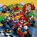 Super Mario Kart - Donut plains ringsignal
